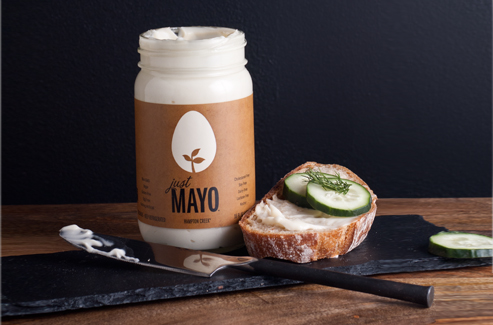 Vegan mayo is safer, cheaper, and causes no harm to animals.